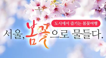 서울, 봄꽃으로 물들다